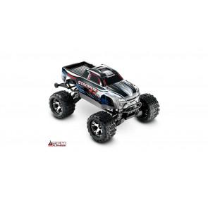 TRAXXAS 1/10 Stampede VXL 4WD Monster Truck Brushless RTR with TSM, Silver