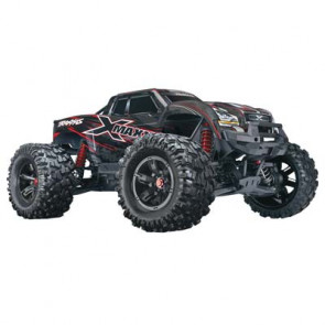 Traxxas X-Maxx 8S Monster Truck TSM 4WD RTR Red 29.8""