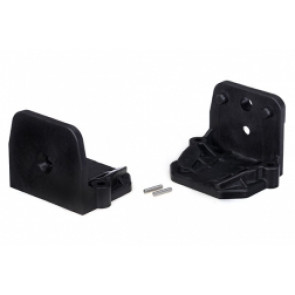 TRAXXAS  Motor mounts (front and rear)/ pins (2)