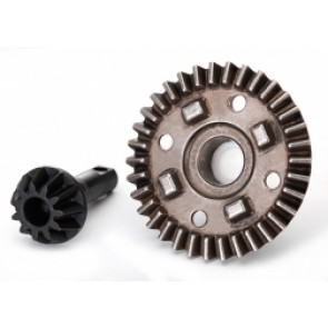 TRAXXAS RING GEAR, DIFFERENTIAL/ PINION GEAR DIFFERENTIAL