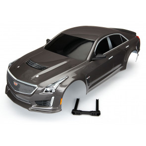 Traxxas Silver Cadillac CTS-V Body for 4-Tec 2.0 Painted
