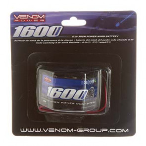 VENOM 6V 1600mAh NiMH Hump Receiver Battery