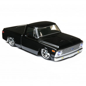 Vaterra 1/10 1972 Chevy C10 Pickup Truck V-100 S 4WD Brushed RTR, Black