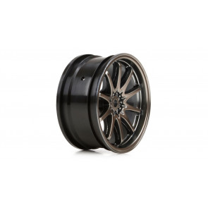 Vaterra Wheel Front Volk Racing CE28N 54x26mm, Gun Metal (2)